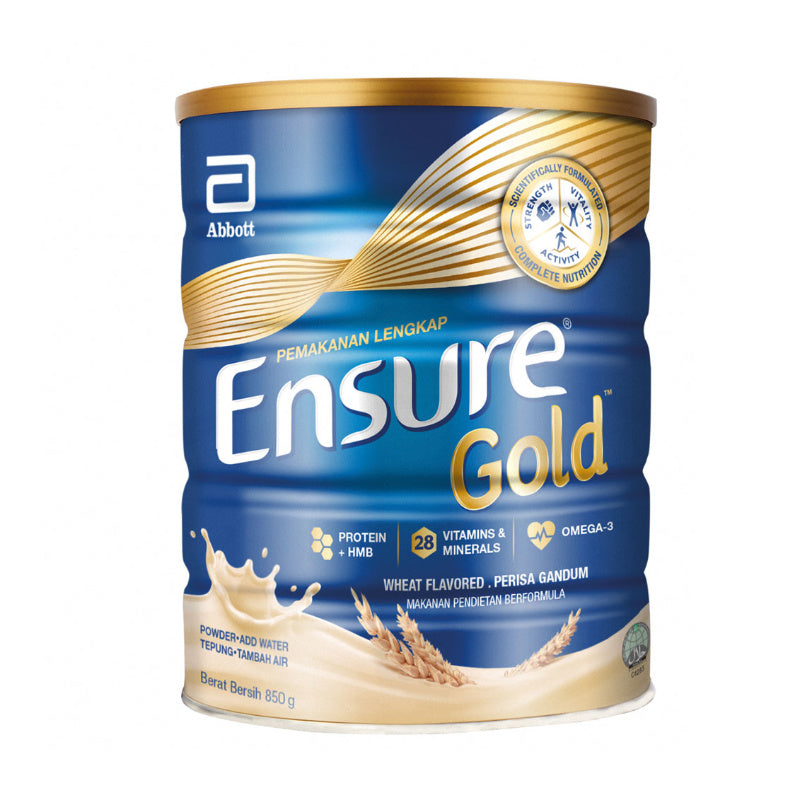 Ensure Gold Wheat Flavoured Adult Milk Formula 850g