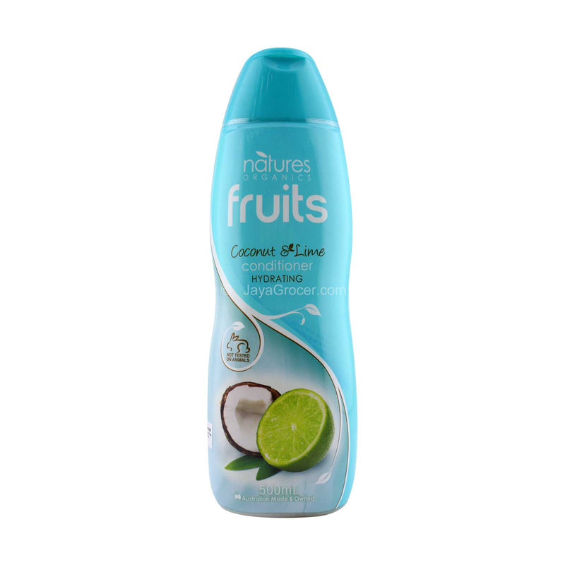 Natures Organics Fruits Coconut and Lime Conditioner 500ml