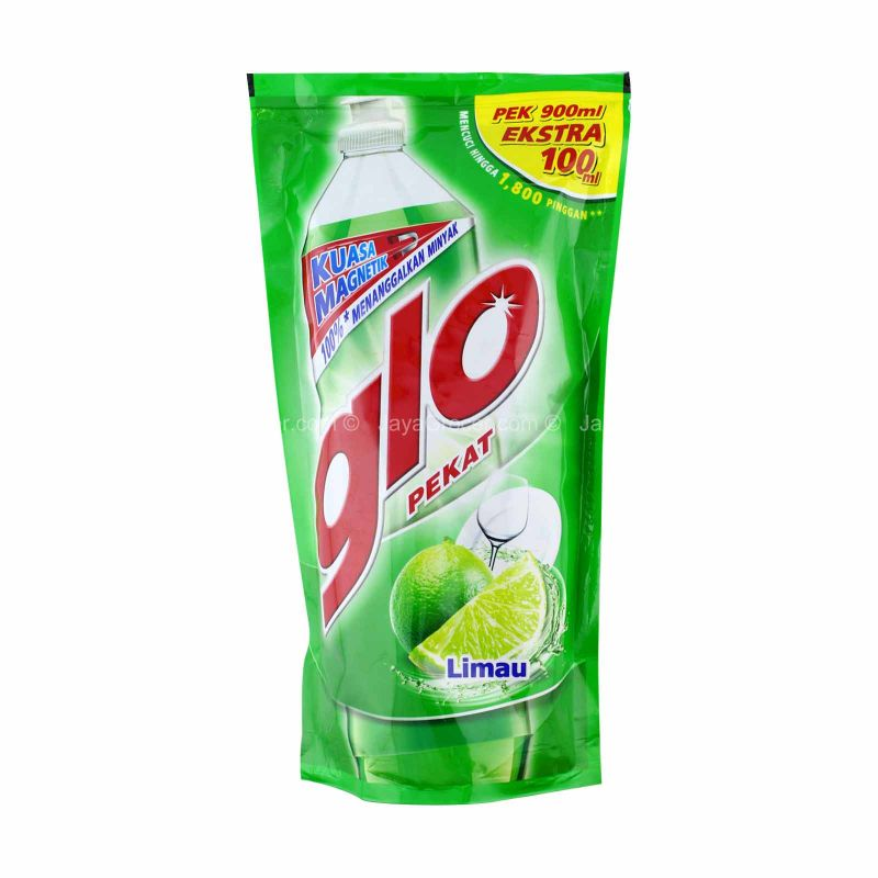 Glo Lime Dishwashing Liquid Refill 850ml