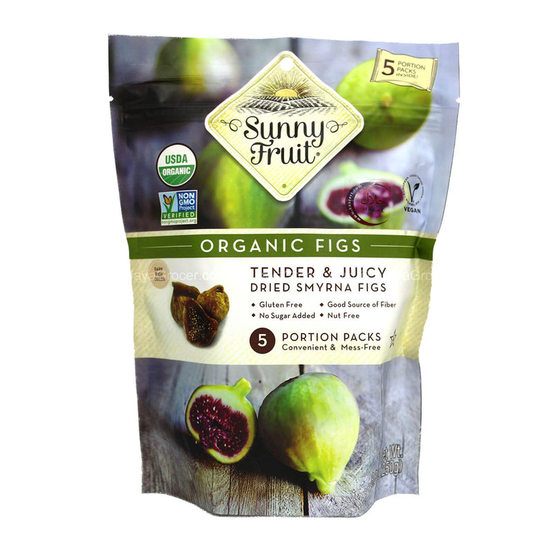 Sunny Fruit Organic Dried Figs 250g