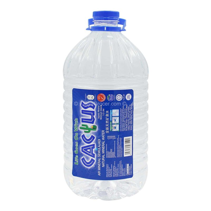 Cactus Mineral Water 5.5L