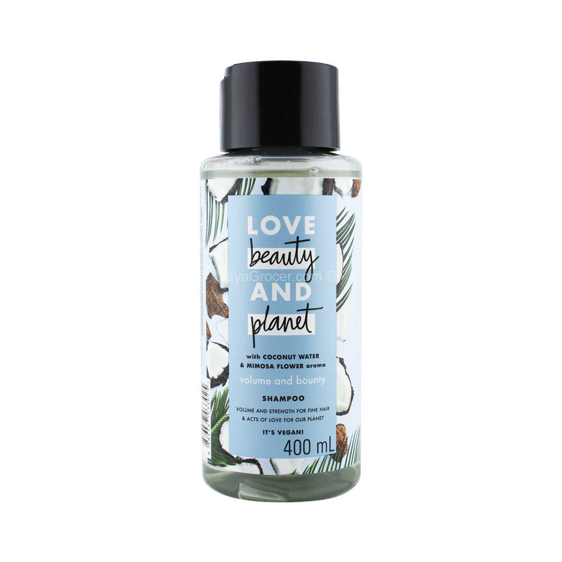 Love Beauty and Planet Volume and Bounty Shampoo 400ml