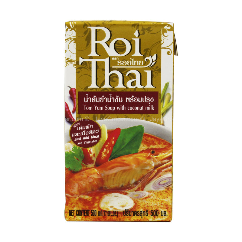 Roi Thai Tom Yum Soup with Coconut Milk 500ml
