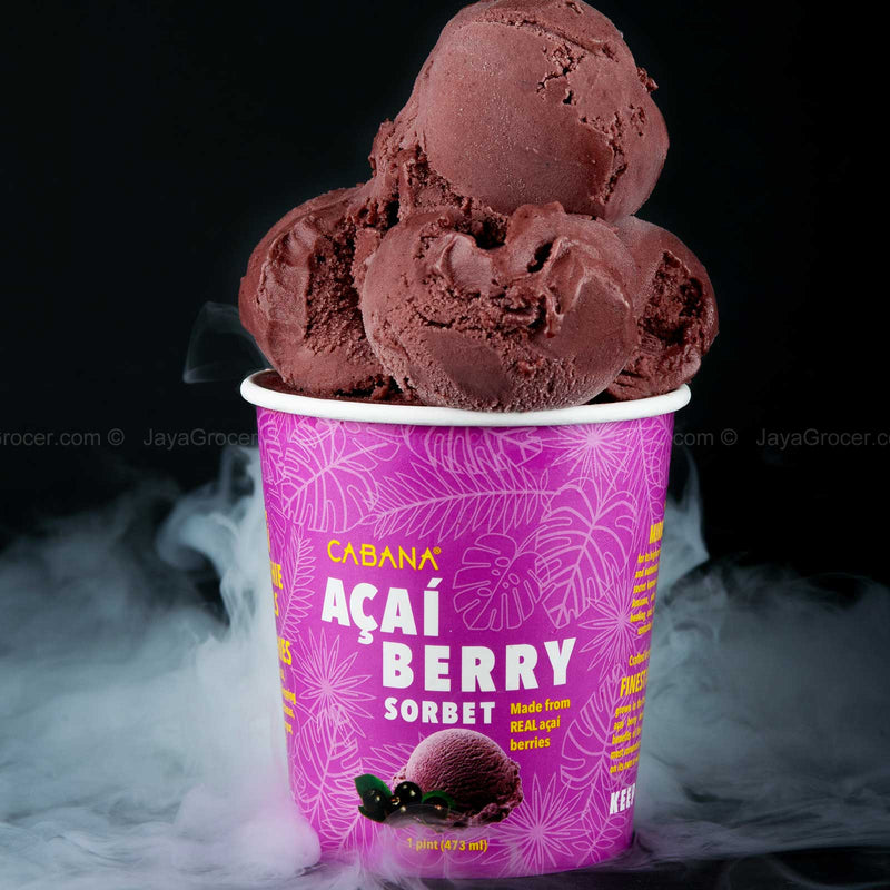 Cabana Acai Berry Sorbet 473ml