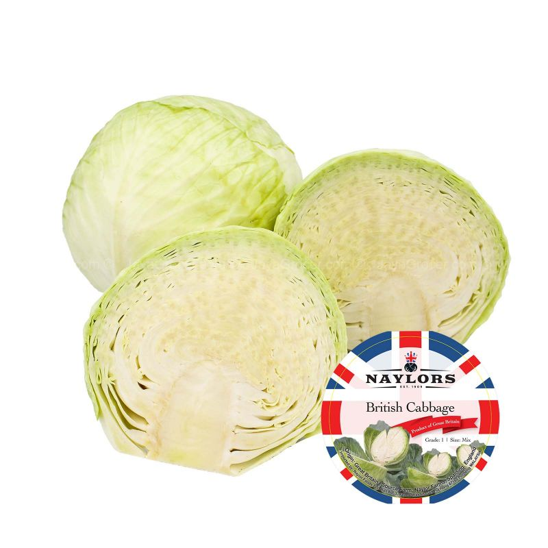 Round Cabbage (UK) 700g
