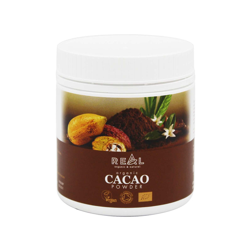 Real Organic Cacao Powder 180g