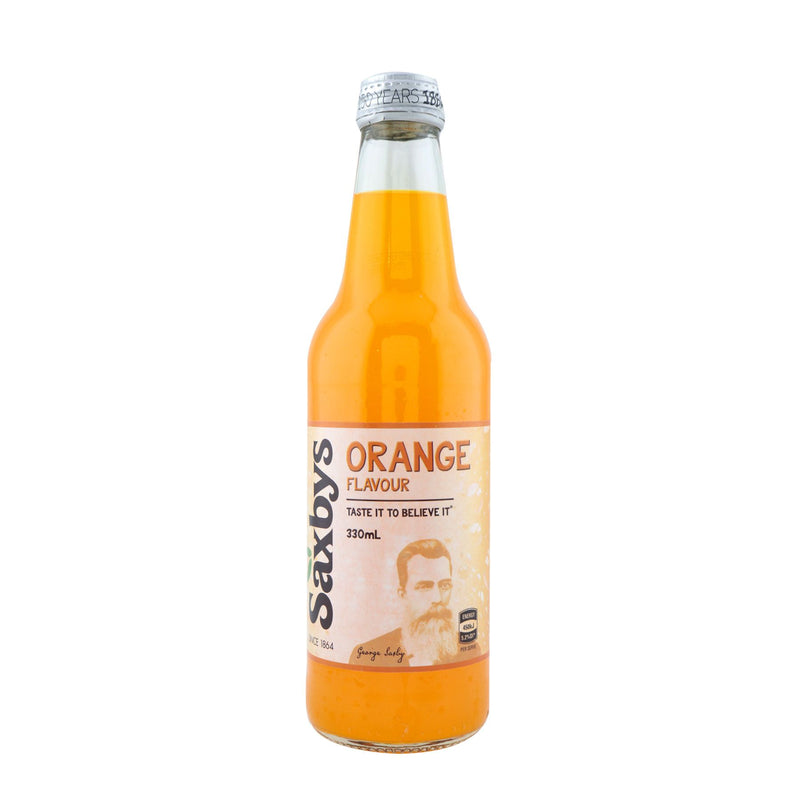 Saxbys Orange Soft Drink 330ml