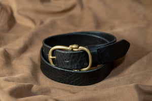 Narrow Type Leather Belt