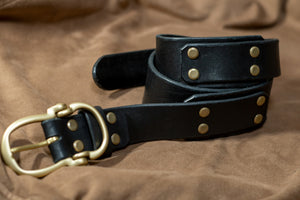 """Ranger Type Leather Belt"""
