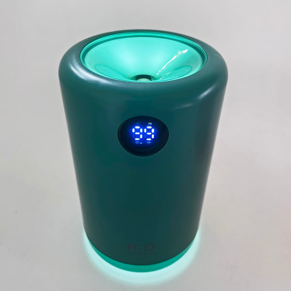 H2O 500 cordless humidifier with night light on