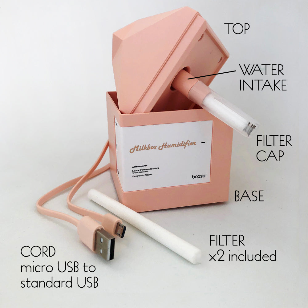 mini humidifier parts included