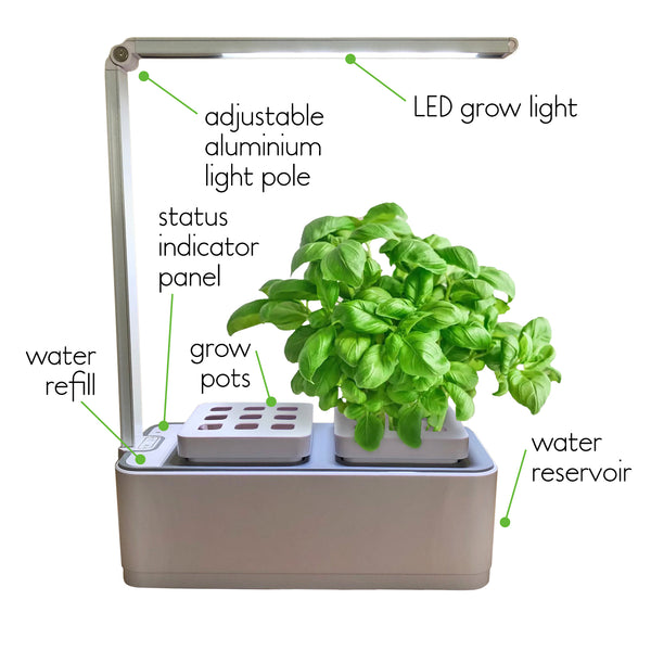 Smart Garden Hydro 2.0 set up directions
