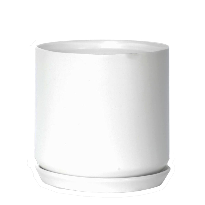 Oslo Planter Large - 15cm x 18.5cm - White