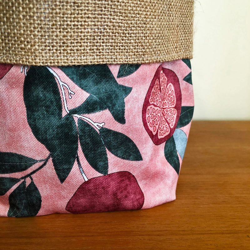 Orchid & Fig Reversible Cover Pot - Pinkalicious - SOLD OUT