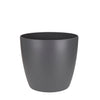 Cover Pot - Elho Brussels Round - 14cm Charcoal
