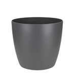 Cover Pot - Elho Brussels Round - 16cm Charcoal