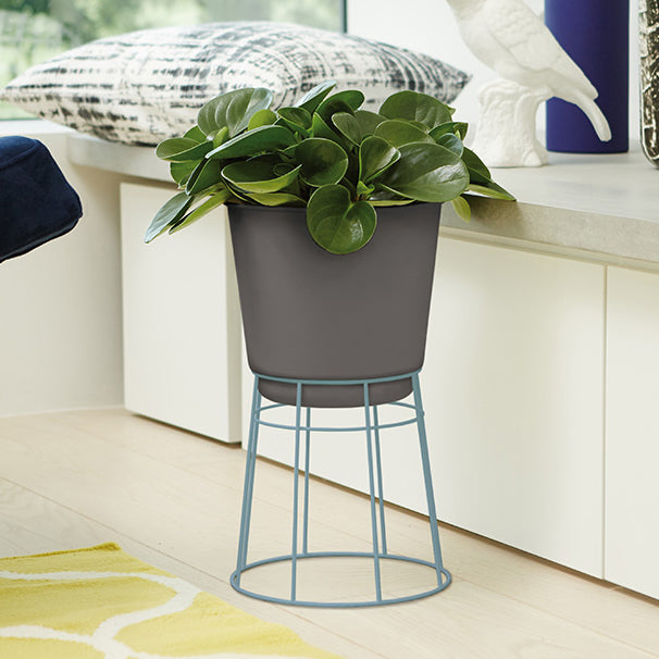 Pot + Stand - Elho B.For Up - 24cm Denim