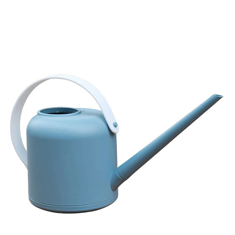 Crew Watering Can - Steel Blue (White Handle)