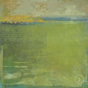 "Modern abstract landscape art ""Above Anything,"" downloadable art by Victoria Primicias"