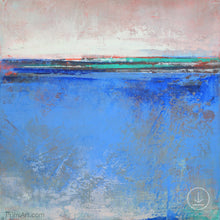 "Load image into Gallery viewer, Zen abstract beach art ""Carolina Shores,"" downloadable art by Victoria Primicias"
