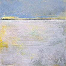 "Load image into Gallery viewer, Contemporary abstract coastal wall decor ""Inner Ocean,"" downloadable art by Victoria Primicias"
