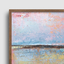 "Load image into Gallery viewer, Closeup detail of Coastal abstract ocean wall art ""Morning Gallery,"" downloadable art by Victoria Primicias"