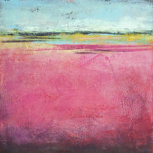 "Load image into Gallery viewer, Pink abstract beach artwork ""Painted Lady,"" giclee print by Victoria Primicias"