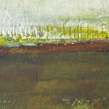 "Load image into Gallery viewer, Closeup detail of impressionist abstract landscape art ""Spring Eternal,"" printable wall art by Victoria Primicias"