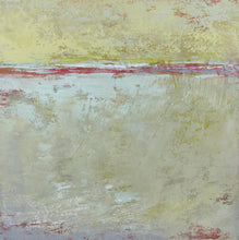 "Load image into Gallery viewer, Neutral color abstract ocean painting ""Sweet Compass,"" giclee print by Victoria Primicias"