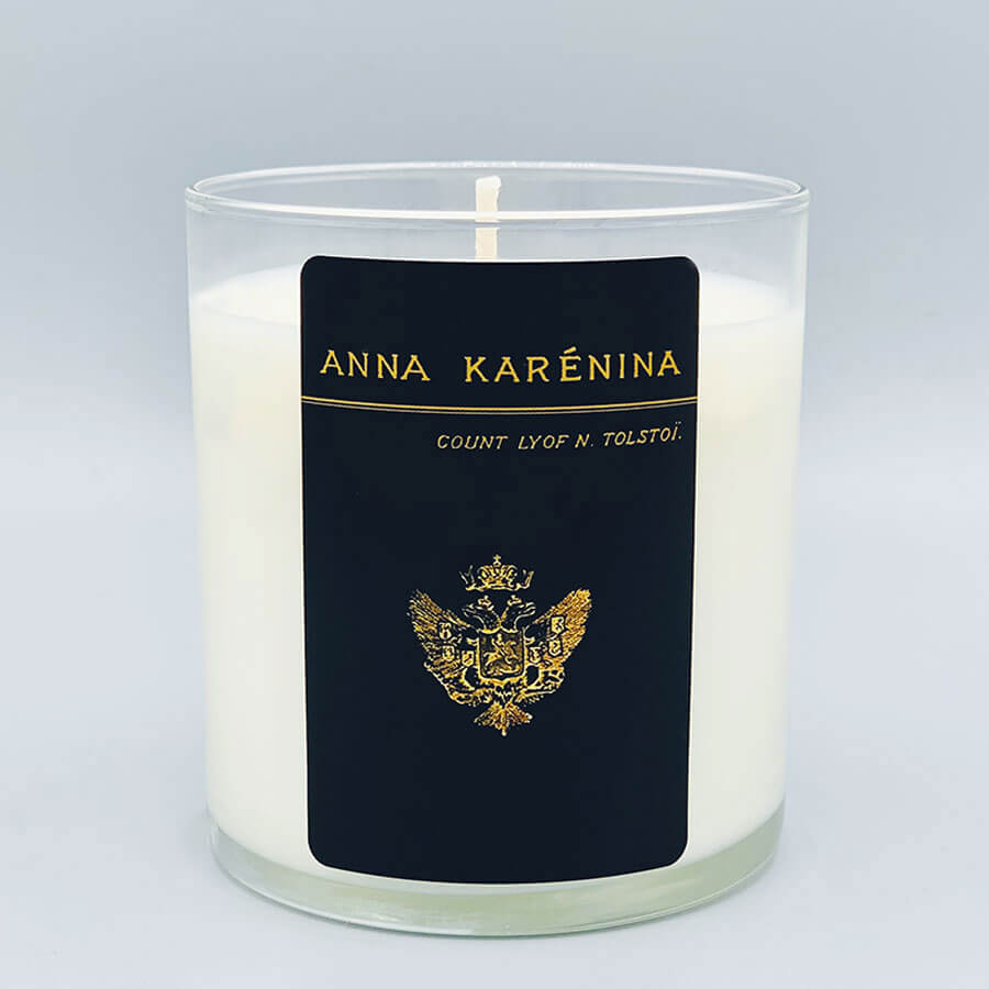 Anna Karenina - Scented Book Candle