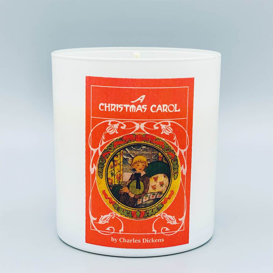 A Christmas Carol Scented Book Candle Holiday gift