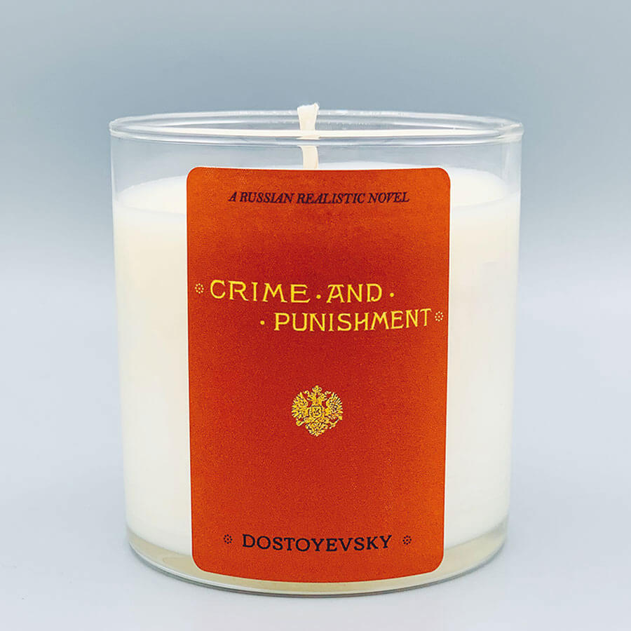 Crime and Punishment - Scented Book Candle