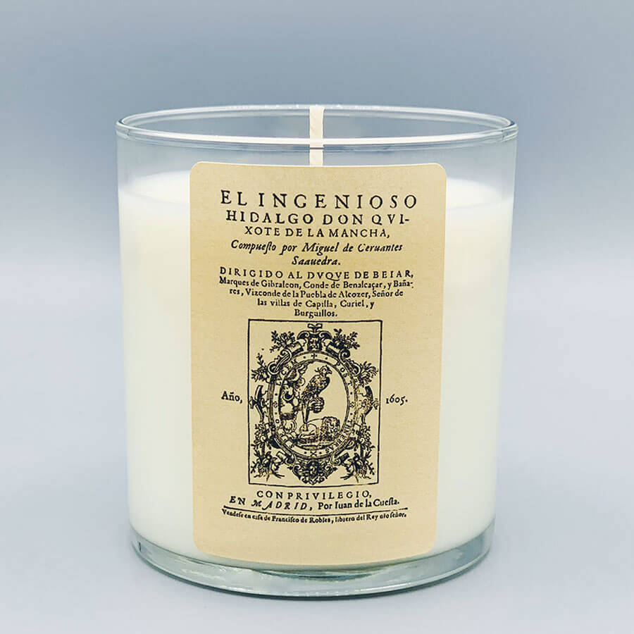 Don Quixote - Scented Book Candle