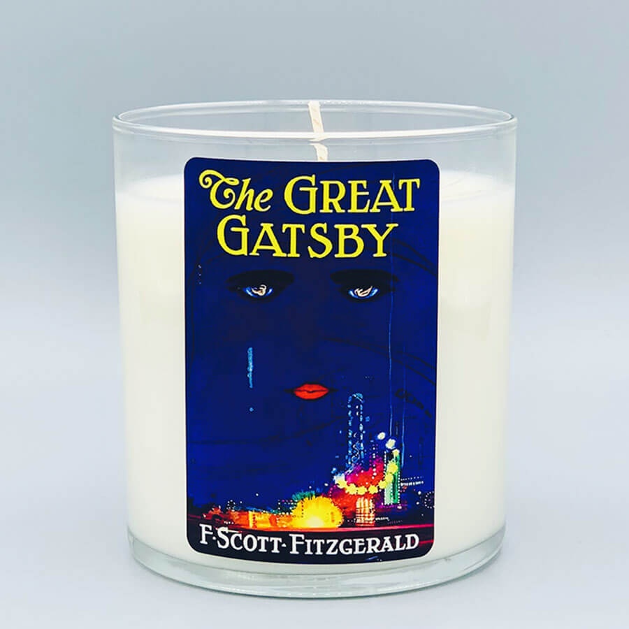 The Great Gatsby - Scented Book Candle