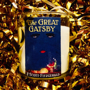 The Great Gatsby - Scented Book Candle - Noble Objects