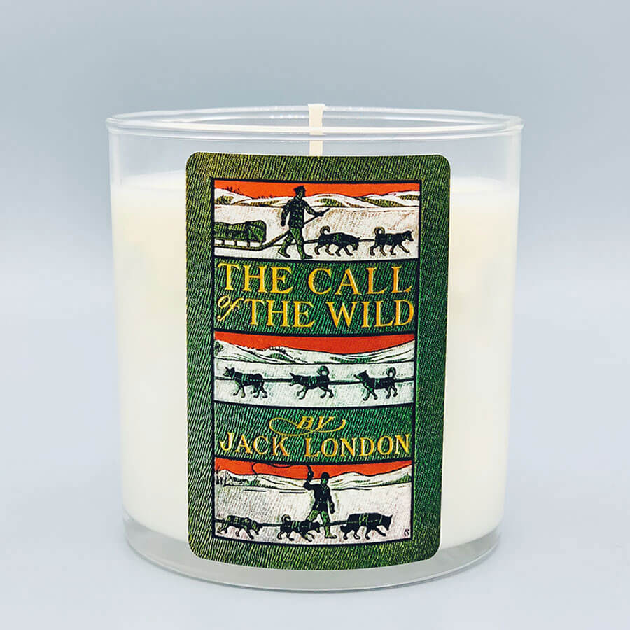 Jack London - Scented Book Candle