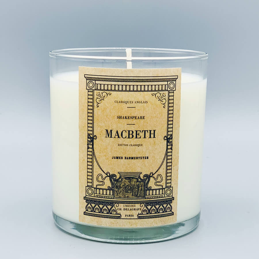 Macbeth - Scented Book Candle