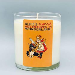 Alice Adventures in Wonderland - Scented Book Candle