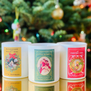 Seasonal Book Candle Subscription