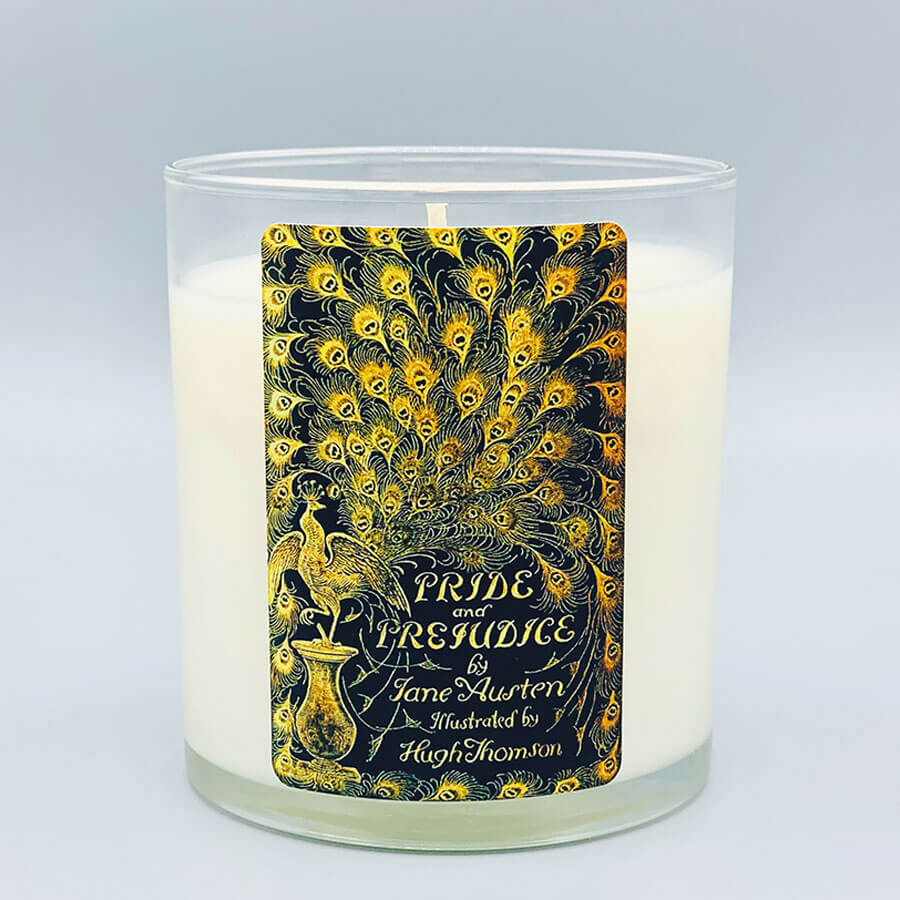 Pride and Prejudice - Scented Book Candle