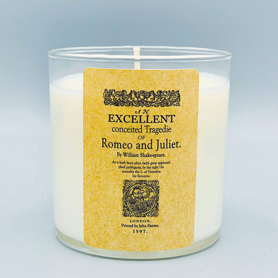 Romeo & Juliet - Scented Book Candle