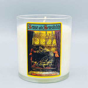 Sense and Sensibility - Scented Book Candle