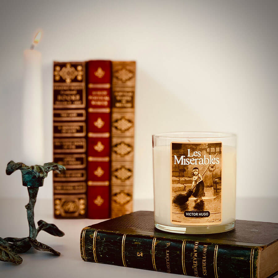 Les Miserables - Scented Book Candle