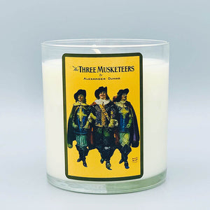 Three Musketeers - Scented Book Candle