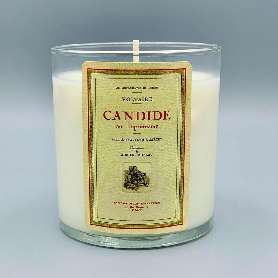 Voltaire - Scented Book Candle