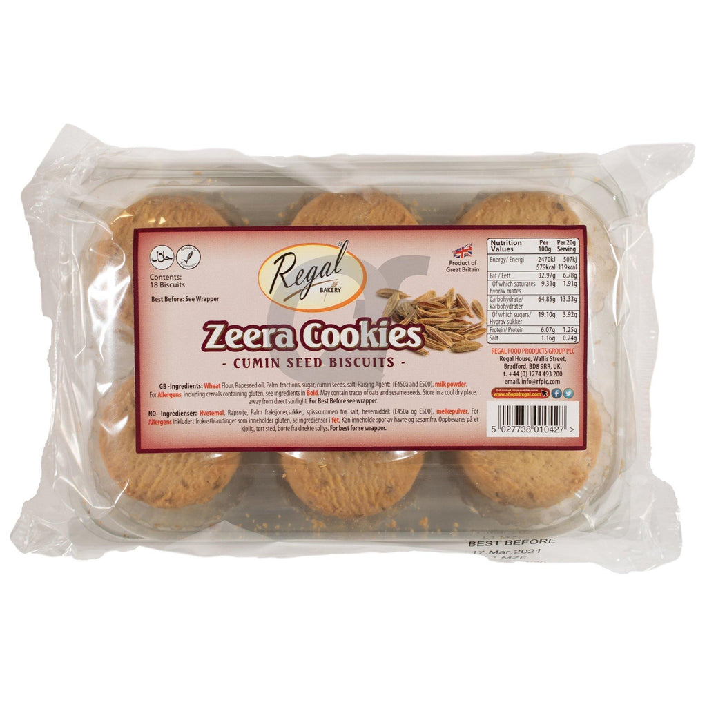Regal Zeera Cookies 18 Pieces