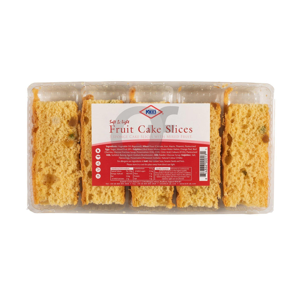 KCB Fruit Cake Slices 5 Pieces