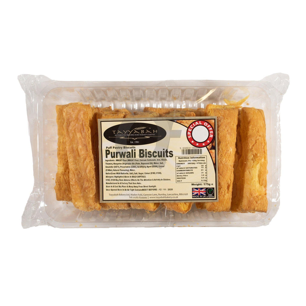 Tayyabah Purwali Biscuits 175g