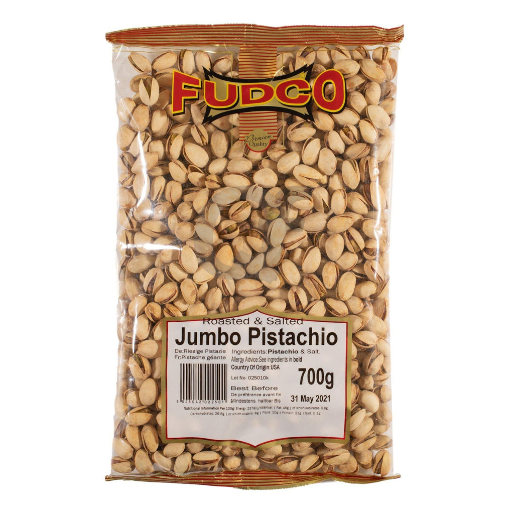 Fudco Roasted and Salted Pistachio (jumbo) 700G