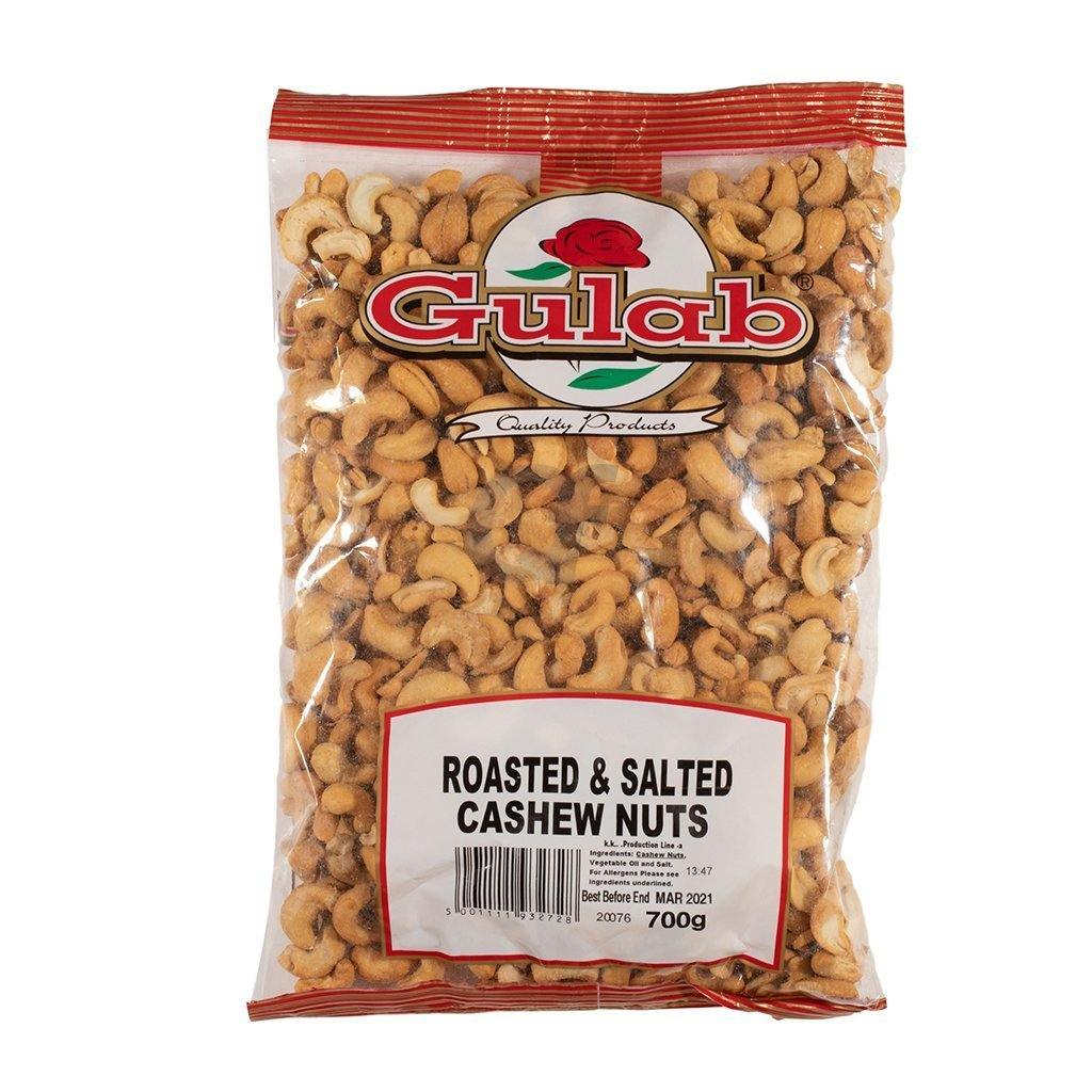 Gulab Roasted and Salted Cashew Nuts 700g